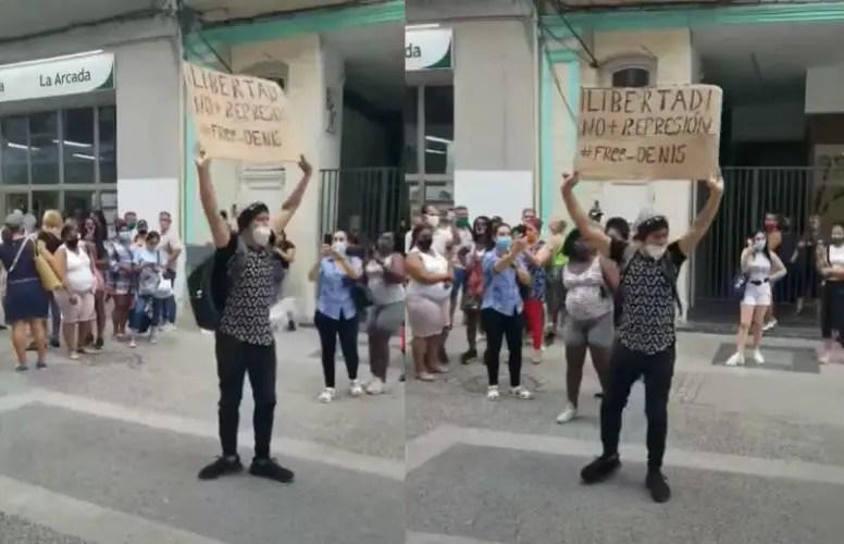 joven Cuba convicto de conciencia Luis Robles
