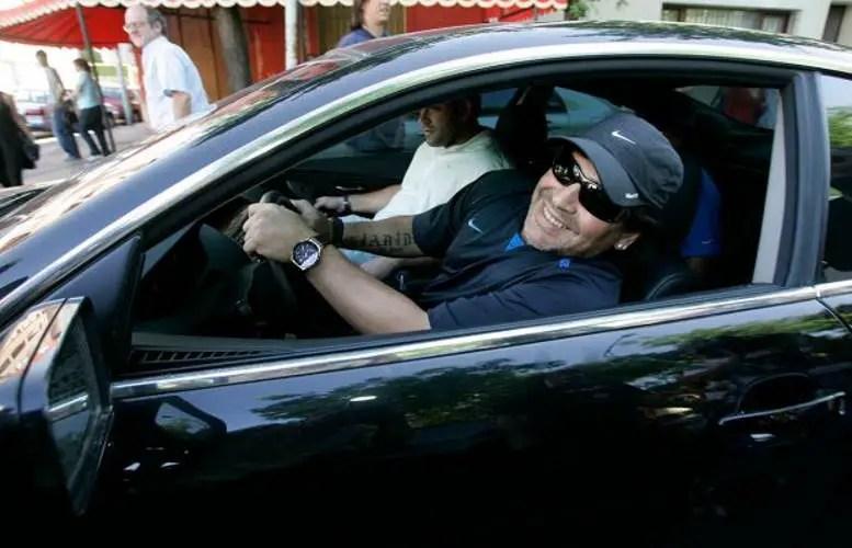 Maradona, Coches, Autos