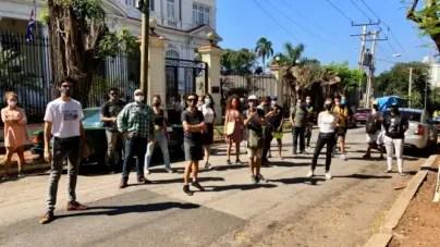 DRL denuncia agresión de funcionarios cubanos a manifestantes pacíficos