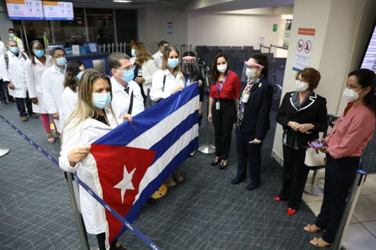Médicos cubanos, Panamá, HRW