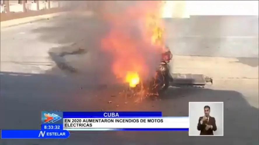 noticiero incendio CubaNet