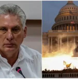 Díaz-Canel alude a disturbios en el Capitolio de EEUU con cita de Martí