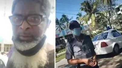 """""""A este le quito la contrarrevolución"""": policía detiene a Amaury Pacheco"""