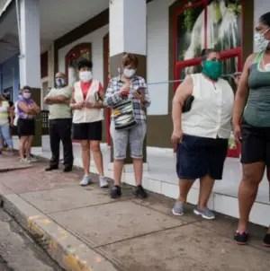 COVID-19: Cuba registra cuatro muertes y 823 nuevos contagios