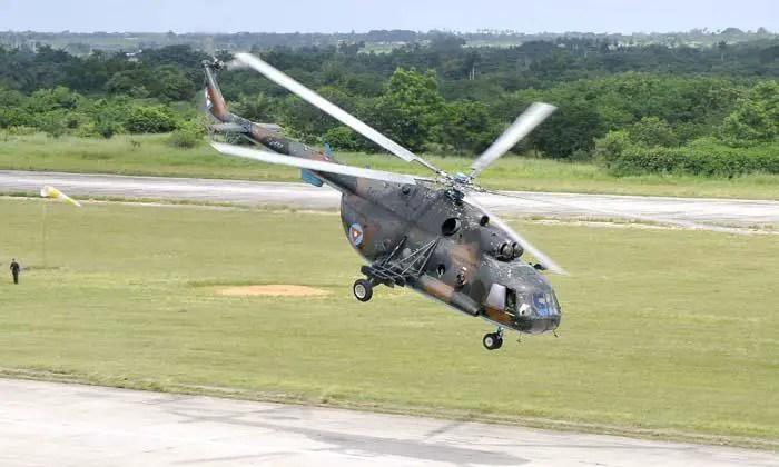Cinco personas mueren en accidente de helicóptero en Cuba