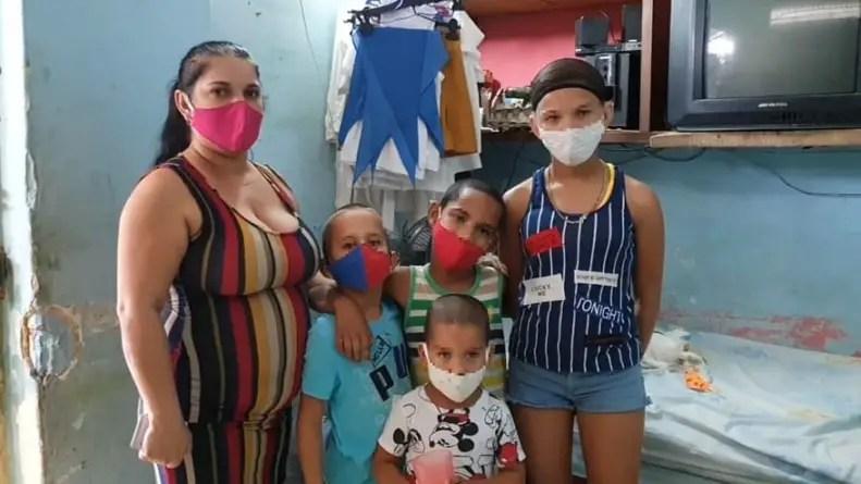 """Nunca pensé que fuera a recibir tantas mentiras"": Otra madre cubana sin hogar"