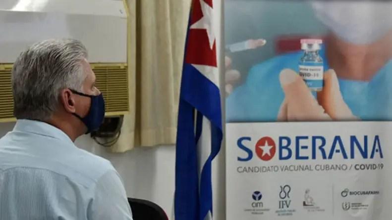 ¡Cero vacunas para los cubanos!
