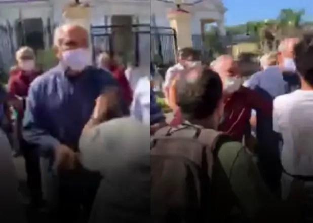 Nueva protesta frente al MINCULT termina en represión