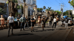 Liberados manifestantes del MINCULT tras varias horas de detención y golpizas
