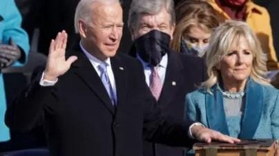 Joe Biden se convierte en el presidente número 46 de Estados Unidos