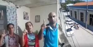 Policía política detiene a hermanos Miranda Leyva en Holguín