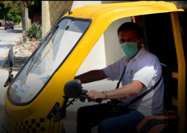 Realizan huelga transportistas privados en Holguín