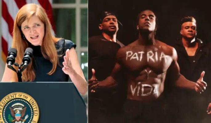 Nominada a directora de la USAID celebra canción Patria y Vida