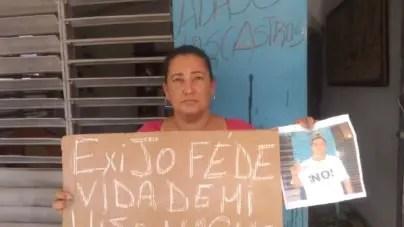 Familiares de Didier Almagro exigen al régimen fe de vida del opositor