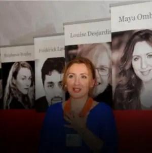 Maya Ombasic, una escritora que adora a las dictaduras