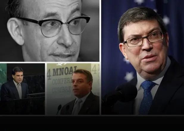 Ministros energúmenos y diplomáticos gamberros