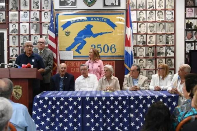 Cubanos en EE.UU. piden a Biden fin de impunidad del régimen castrista