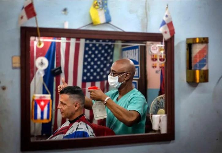 Peluquería en Cuba, Tarea ordenamiento, Trabajo