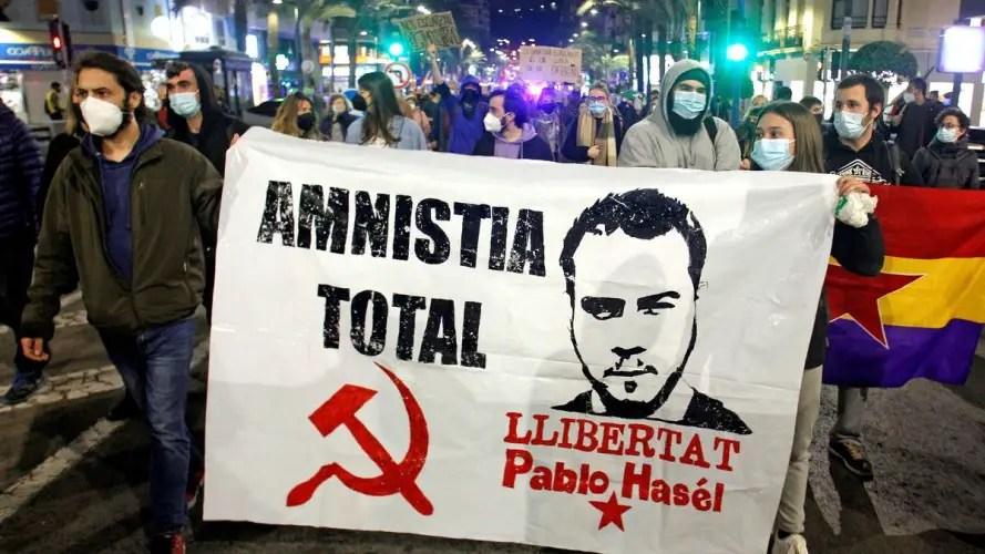 Pablo Hasél España libertad de expresión
