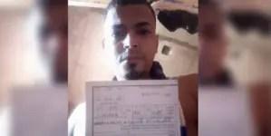 Adrián Góngora: El joven tunero que perdió el miedo al régimen