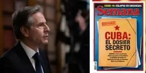 Antony Blinken niega conocer dossier sobre injerencia de Cuba en Colombia