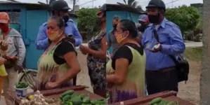 Vecinos impiden decomiso de alimentos a vendedor en Holguín