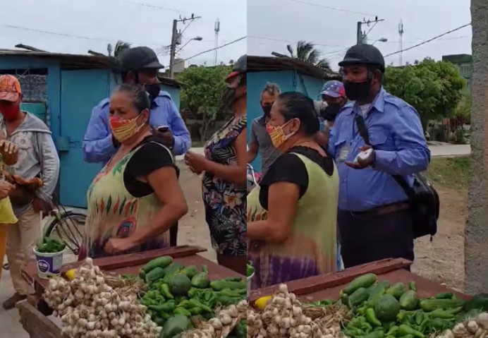 decomiso vendedor Cuba
