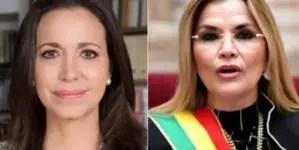 Nominan a María Corina Machado y Jeanine Áñez a Premios Andrei Sájarov