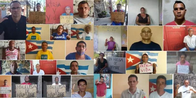 Cubanos fuera de la Isla se unen a huelga de hambre de la UNPACU