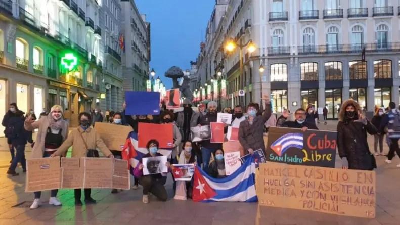Cubanos fuera de la Isla convocan manifestación en Madrid y Washington