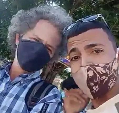 Seguridad del Estado detiene a Rafael Vilches y Adrián Góngora