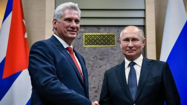 El control reflexivo de Rusia en Cuba y Venezuela