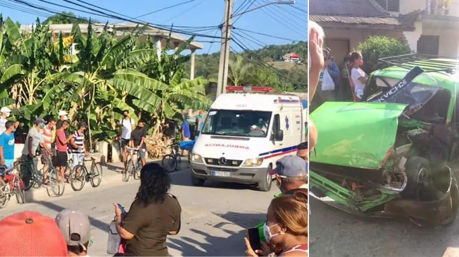 Accidente, Cuba, Granma, Guisa