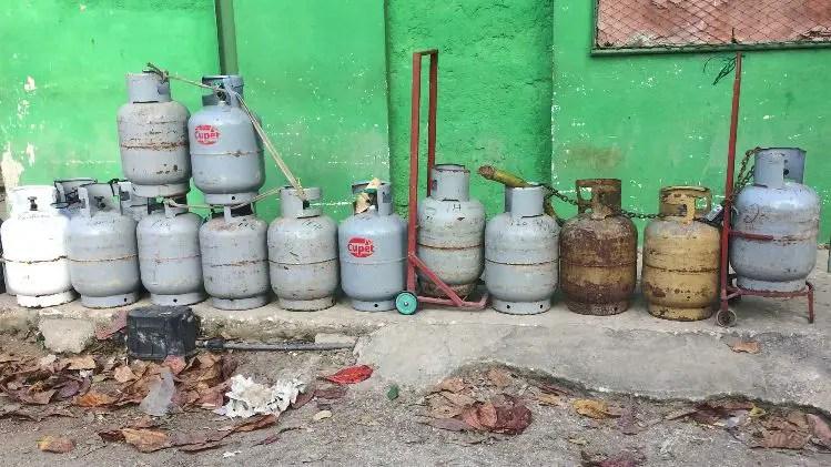 gas licuado Cuba