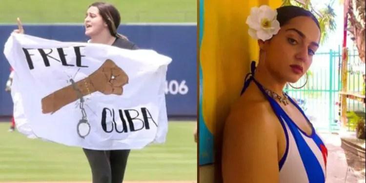 ¿Quién es Kiele Cabrera, la joven que se lanzó al estadio en el juego de Cuba vs Venezuela?