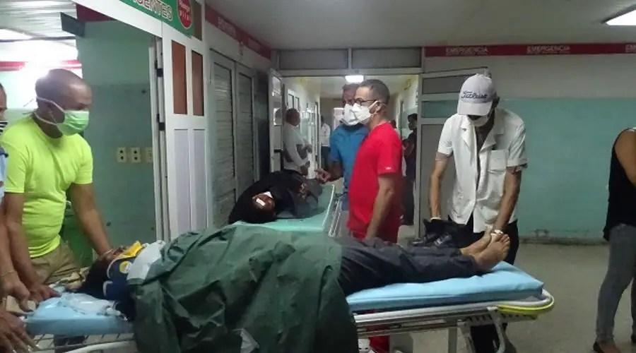 Accidente masivo en Cienfuegos, Cuba