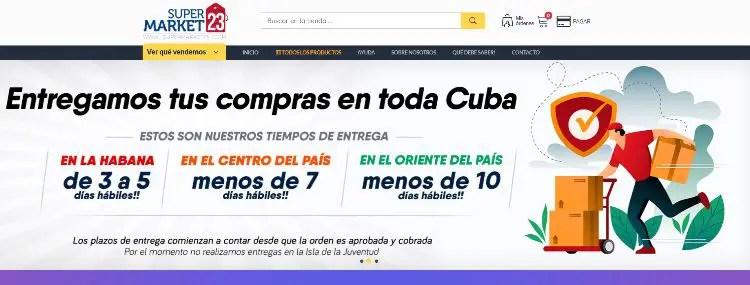 tiendas online Cuba