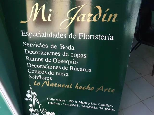 Floristería estatal Mi jardín