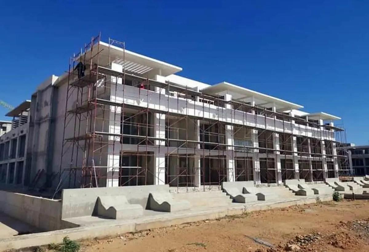 Bloque habitacional H3 del Melia Trinidad. Febrero de 2021. Foto AEI Trinidad