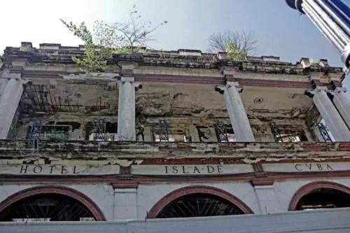 Antiguo hotel Isla de Cuba, en la calle Monte. Foto Cortesia YAR (1)