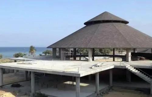 Cubierta del Ranchon hotel Melia Trinidad en abril de 2021. Foto de AEI Trinidad