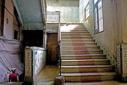 Escaleras Palacio de las Ursulinas 2. Foto P. Chang (1)