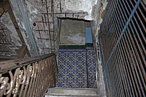 Escaleras Palacio de las Ursulinas 3. Foto P. Chang