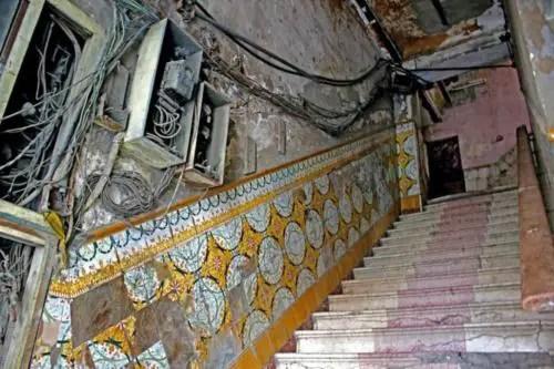 Escaleras Palacio de las Ursulinas. Foto cortesía YAR