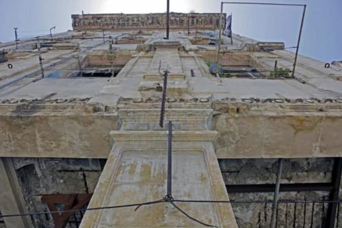 Fachada del antiguo hotel Perla de Cuba. Foto P. Chang