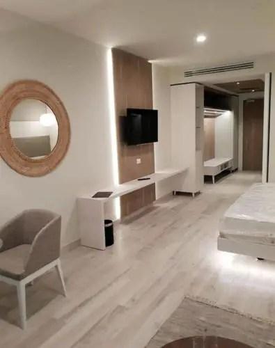 Habitación prototipo construida y diseñada en Italia (Foto: AEI Trinidad)