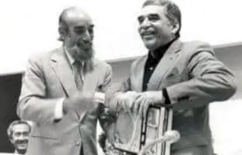 Antonio Núñez Jiménez y Gabriel García Márquez