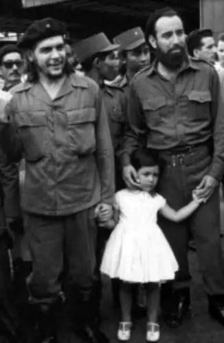 Che Guevara y Antonio Núñez Rodríguez. Foto tomada de internet