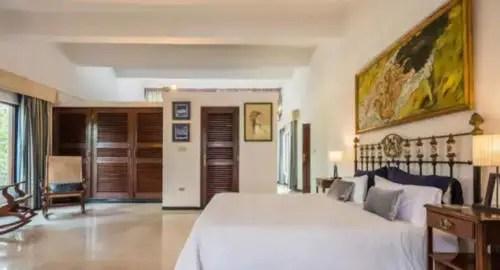 Dormitorio de la Villa Palmera