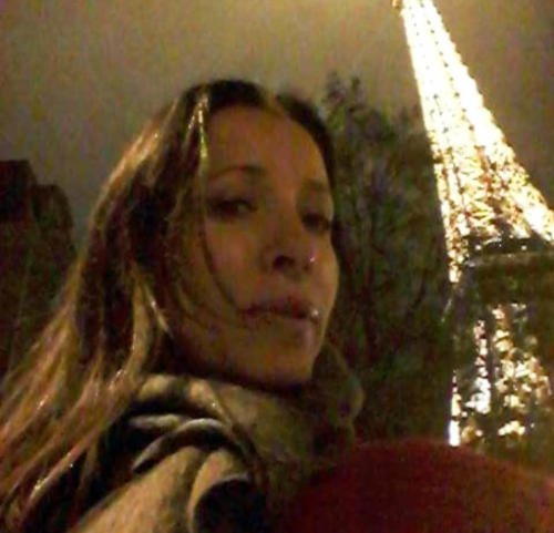 Liliana Nuñez en París, 2015.